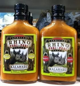 Rhino Peri-Peri Hot And Extra Hot Sauce