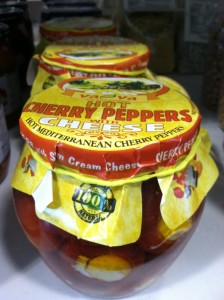 VaVa Hot Cherry Peppers with Cheese