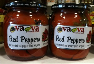 VaVa Red peppers